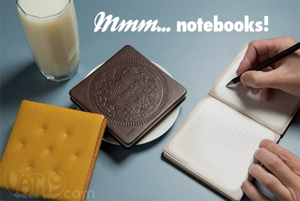 4. Snack treat notebook