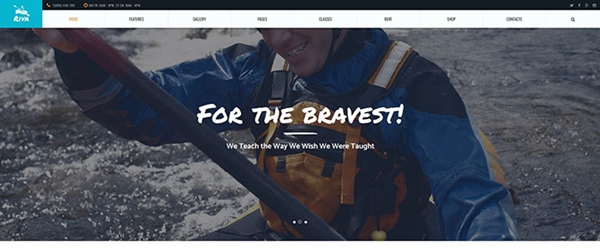 Sports & Outdoors WordPress Theme